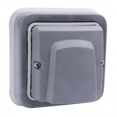 Legrand - Sortie de câbles avec serre-câble Plexo complet IP55 encastré - gris - Réf : 069848