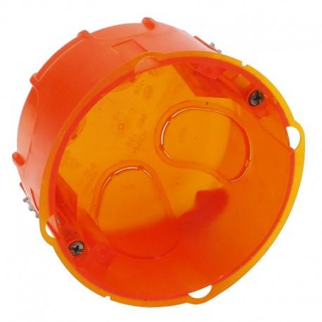 Legrand - Boîte d'encastrement Batibox simple multimatériaux - 80 mm - prof. 50 mm - Réf: 080188