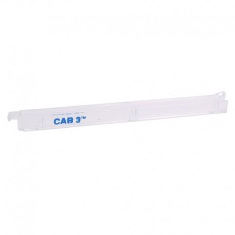 Legrand - Chargeur pour repérage CAB 3 - section 1,5 à 2,5 mm² - transparent - Réf : 038396