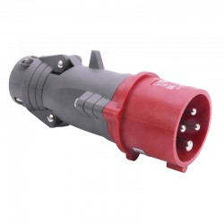 Legrand - Fiche mobile droite Hypra IP44 16A - 380V~ à 415V~ - 3P+T - plastique - Réf : 052243
