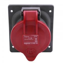 Legrand - Prise à entraxes unifiés fixe Hypra IP44 32A - 380V~ à 415V~ - 3P+T - plastique - Réf : 052919