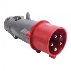 Legrand - Fiche mobile droite Hypra IP44 32A - 380V~ à 415V~ - 3P+N+T - plastique - Réf : 052944