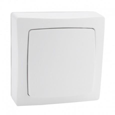 Legrand - Interrupteur va-et-vient appareillage saillie complet - blanc - Réf: 086001