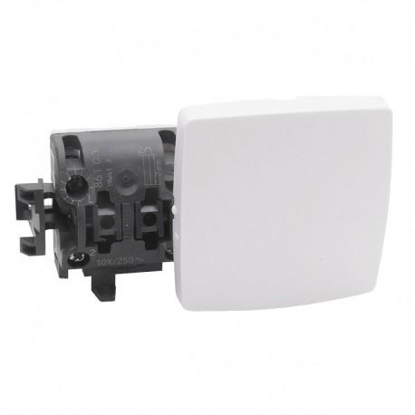 Legrand - Interrupteur va-et-vient appareillage saillie composable - blanc - Réf: 086101