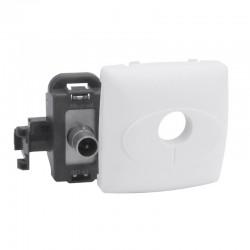 Legrand - Prise télévision simple mâle Appareillage saillie composable - blanc - Réf: 086140