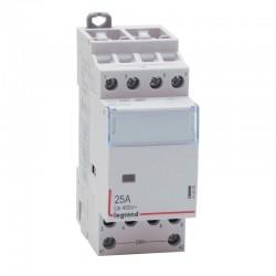 Legrand - Contacteur de puissance bobine 230 V~ - 4P - 400 V~ - 25 A - 4F - 2 modules - Réf : 412535