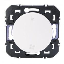 Legrand - Interrupteur commande VMC dooxie finition blanc - Réf : 600007