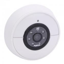Legrand - Sonnette connectée IP44 IK06 connexion directe à la box Wi-Fi - blanc - Réf : 094230