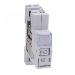 Legrand - Module de brassage RJ45 pour coffret multimédia Optimum - cat. 6 STP - Réf : 413103