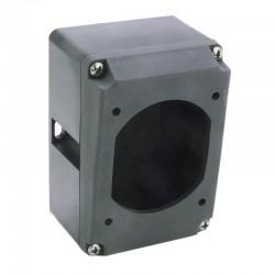 Legrand - Boîtier réversible simple Hypra pour prise 2P+T IP44 et IP66/67 - 55 16A - plastique - Réf : 052029