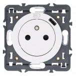 Legrand - Prise Surface Céliane avec chargeur Type-C intégré - livrée avec support et enjoliveur Blanc - Réf : 068127