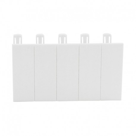 Legrand - Obturateur 5 modules - blanc RAL 9010 - Réf: 001660