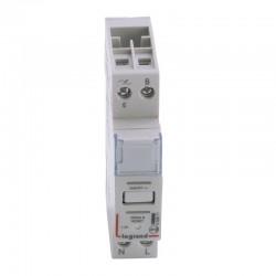 Legrand - Télévariateur compatible lampes à économie d'énergie - 1 module - Réf : 002671