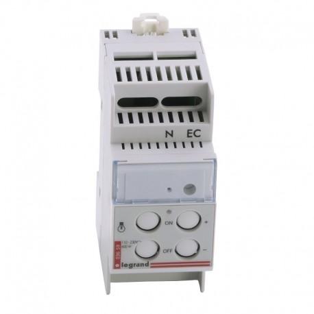 Legrand - Télévariateur - pour sources incandescente - 60-600 W - 2 modules - Réf : 003659