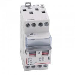 Legrand - Interrupteur-sectionneur DX³-IS - 4P 400 V~ - 32 A - 2 modules - Réf : 406479