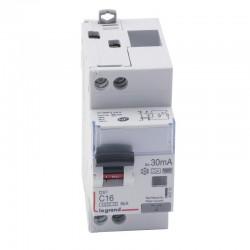 Legrand - Disjoncteur différentiel DX³4500 - vis/vis - U+N 230V~ - 16A typeF 30mA - courbe C - 2 modules - Réf : 410753