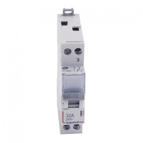 Legrand - Interrupteur-inverseur - va et vient 250 V~ - 1 module - Réf : 412900