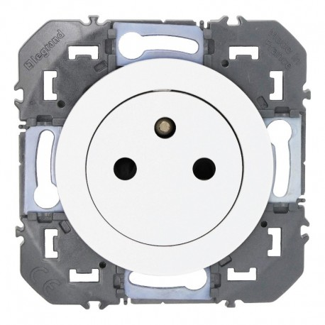 Legrand - Prise de courant 2P+T Surface dooxie 16A finition blanc - Réf : 600335