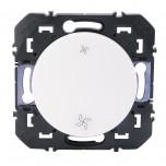 Legrand - Poussoir commande VMC dooxie finition blanc - Réf : 600006