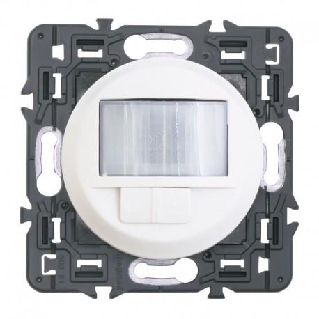 Legrand Céliane - Interrupteur automatique toutes charges - Ensemble Blanc à Griffes - à composer - Réf : 099507G
