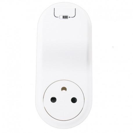 Legrand Céliane - Enjoliveur - Prise 2P+T Surface + Chargeur USB Semi Encastré - Blanc - Réf : 068116