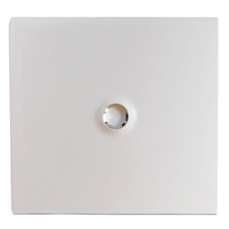 Legrand - Porte DRIVIA blanche IP 40 - IK 07 - pour coffret réf.4 012 22 - RAL 9003 - Réf : 401232