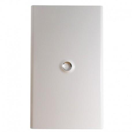 Legrand - Porte DRIVIA blanche IP 40 - IK 07 - pour coffret réf.4 012 24 - RAL 9003 - Réf : 401234
