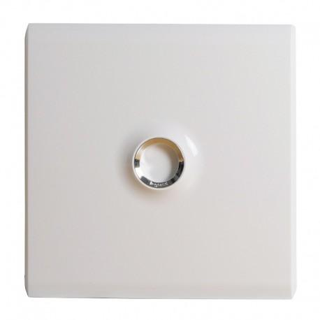 Legrand - Porte DRIVIA blanche IP 40 - IK 07 pour coffret réf.4 012 11 - Blanc RAL 9003 - Réf : 401331