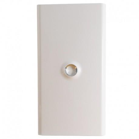 Legrand - Porte DRIVIA blanche IP 40 - IK 07 pour coffret réf.4 012 13 - Blanc RAL 9003 - Réf : 401333