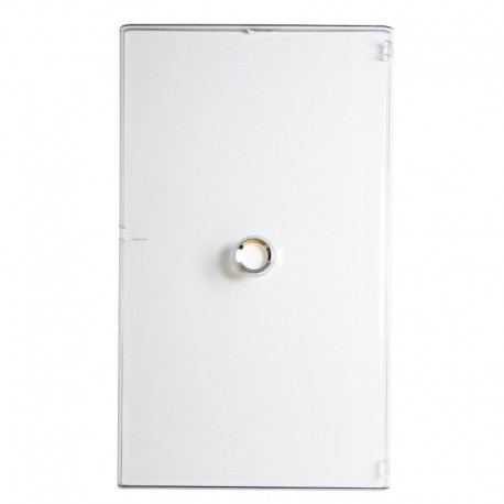 Legrand - Porte DRIVIA transparente IP 40 - IK 07 - pour coffret réf.4 012 24 - Réf : 401244