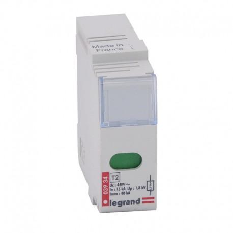Legrand - Cassette rechange - parafoudres réf. 039 30/31/32/33 - Réf : 003934