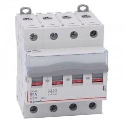 Legrand - Interrupteur-sectionneur DX³-IS - 4P 400 V~ - 63 A - 4 modules - Réf : 406481