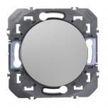 Legrand - Interrupteur ou va-et-vient dooxie 10AX 250V~ finition alu - Réf : 600101