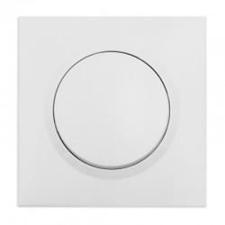 Legrand - Interrupteur ou va-et-vient dooxie one 10AX 250V~ livré avec plaque carrée blanche et griffes - Réf : 600701