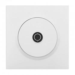 Legrand - Prise TV étoile blindée dooxie one livrée avec plaque carrée blanche et griffes - Réf : 600751