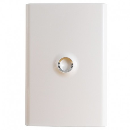 Legrand - Porte DRIVIA blanche IP 40 - IK 07 pour coffret réf.4 012 12 - Blanc RAL 9003 - Réf : 401332