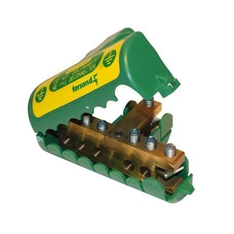 Forsond - Répartiteur de terre jusqu' à 35mm² - Réf : REPTER2