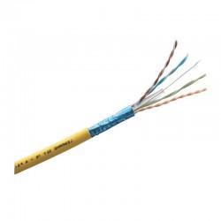 Legrand -Câble pour réseaux locaux LCS³ catégorie6A F/UTP 4 paires torsadées 100ohms - au mètre - réf : 032778