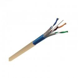 Axitronic Résidentiel - Câble multimédia grade 3 TV F/FTP 4P - LZSH - coupe au mètre - Réf : G3TV45/1