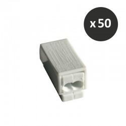 Cooper Capri - 50 Connecteurs S/R - 1 fil souple + 2 fils rigides - Réf: 309195(50)