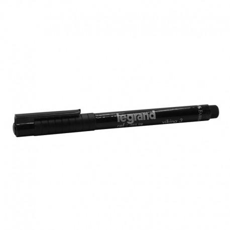 Legrand - Stylo feutre noir indélébile pour repérage - Réf : 039598