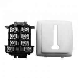 Legrand - Prise téléphone 8 contacts appareillage saillie composable - blanc - Réf: 086138