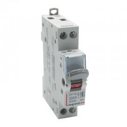 Legrand - Interrupteur-sectionneur DX³-IS - 2P 400 V~ - 20 A - 1 module - Réf : 406432