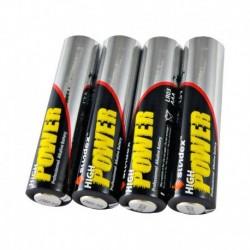 Sundex -Piles LR3 AAA - Super alcalines 12-48 - Vendu par 4 - Réf : 4102