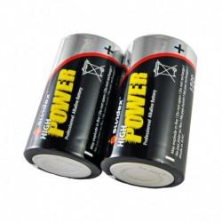 Sundex -Piles LR20 - Super alcalines 6-12 - Vendu par 2 - Réf : 4103