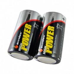 Sundex -Piles LR14 - Super alcalines 6-12 - Vendu par 2 - Réf : 4104