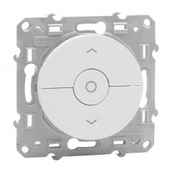 Schneider Odace - Interrupteur de Volets-Roulants - Blanc - Réf : S520208