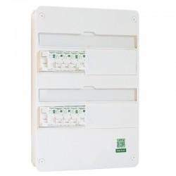 Modifier : Schneider - Tableau Pré-câblé - Rési9 - 13 modules - 2 Rangées - XP - Réf: SCH13201