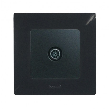 Legrand - Prise TV - simple mâle - étoile blindée - Fonte - à composer - Réf : 096648