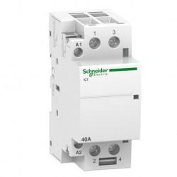 Schneider - Acti9, iCT contacteur 40A 2NO 230...240VCA 50Hz - Réf : A9C20842